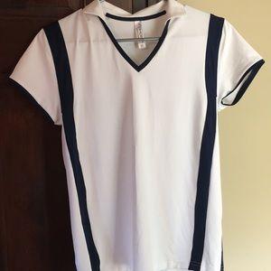 InPhorm golf/tennis short sleeve top size: medium